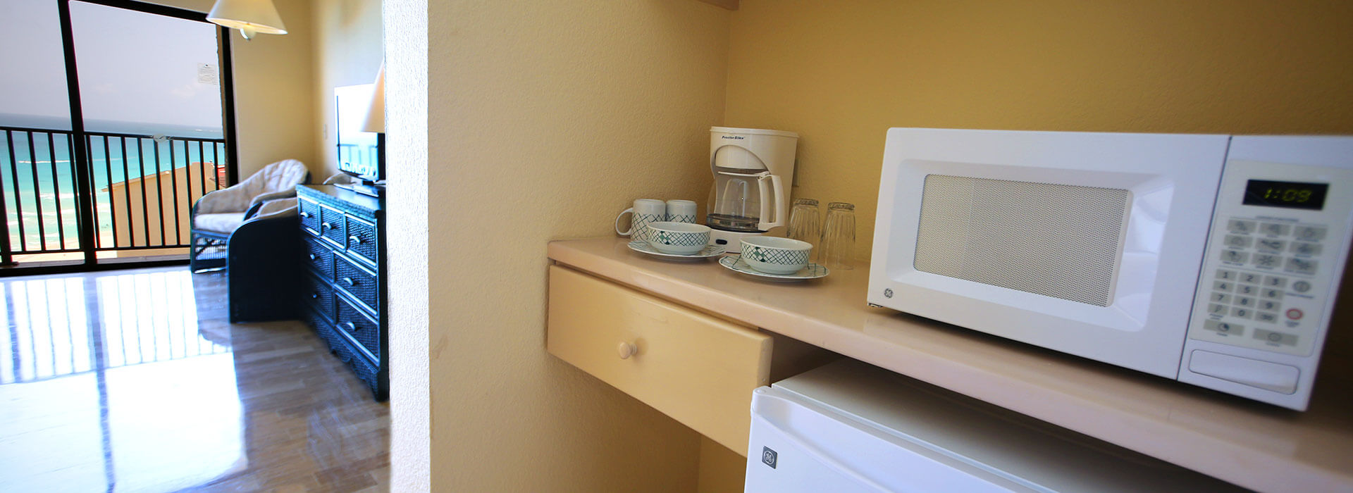 beachfront Junior suite with kitchenette