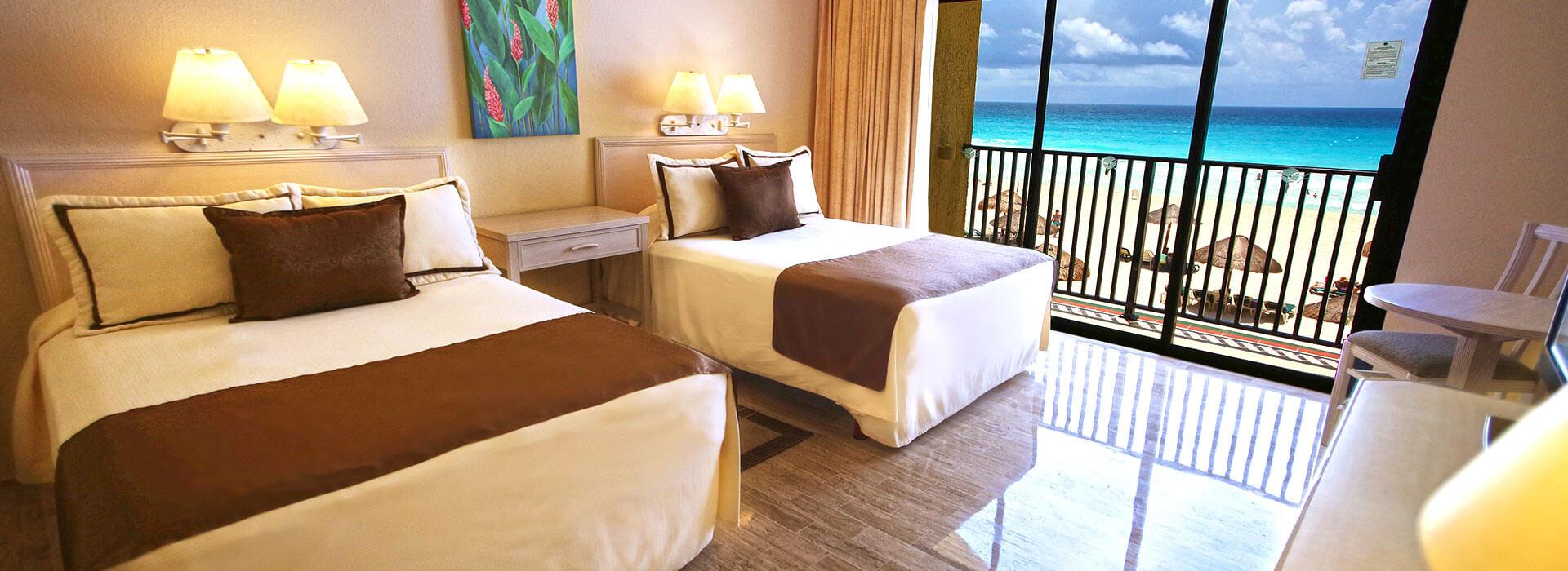 junior suite con vistas al mar