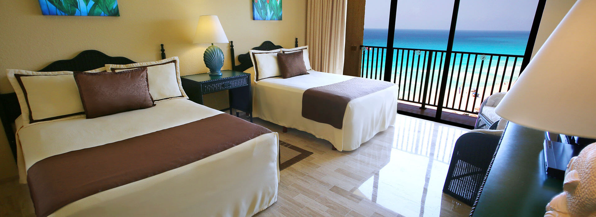 Junior Suite Doble con vista al mar