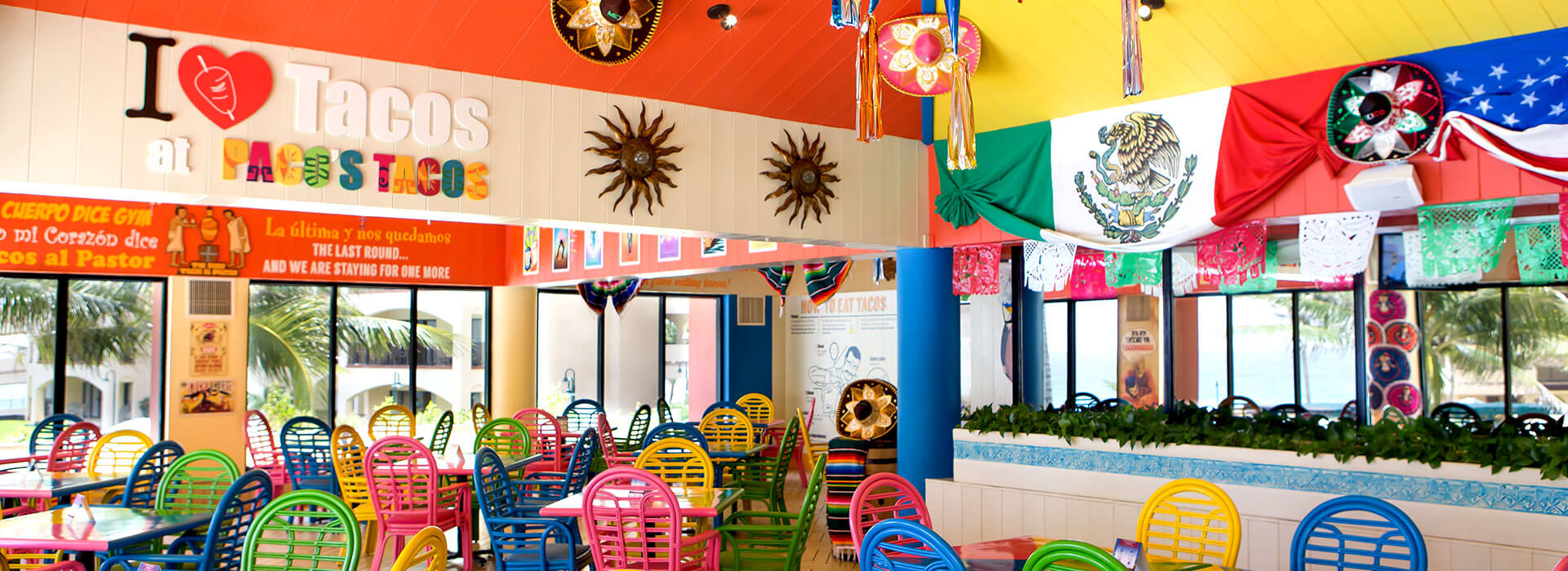 mexican restaurant in Cancun resort