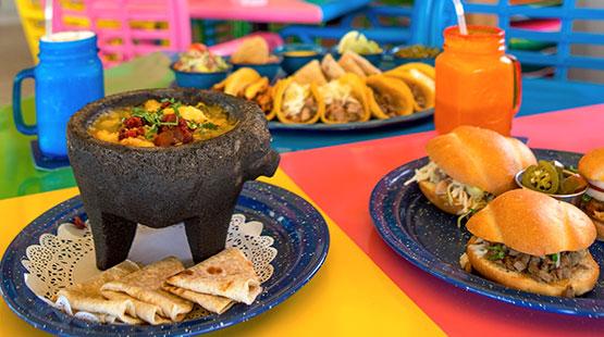 comida mexicana en hotel de Cancún