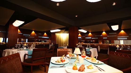 restaurante elegante en hotel de cancún