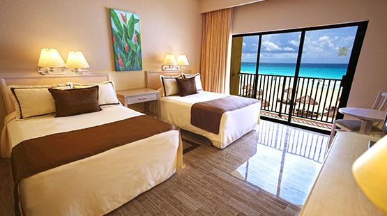accommodation in cancun resort