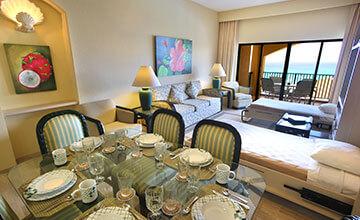 suite con amplia sala y comedor