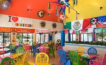 mexican food restaurant in cancun resort