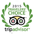 Tripadvisor Travelers Choice Award 2015